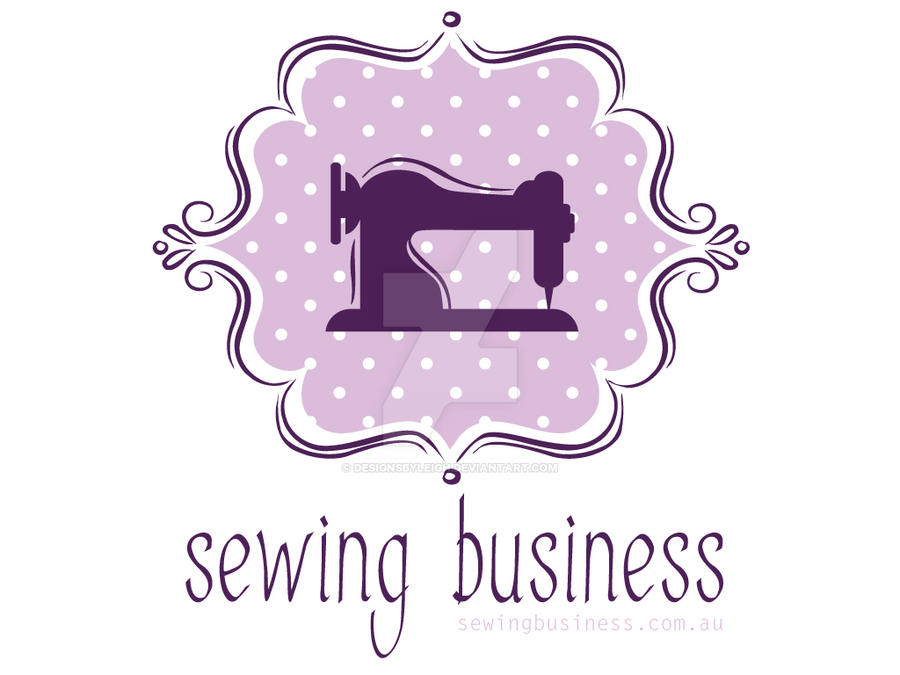 Sewing Logo by designsbyleigh on DeviantArt