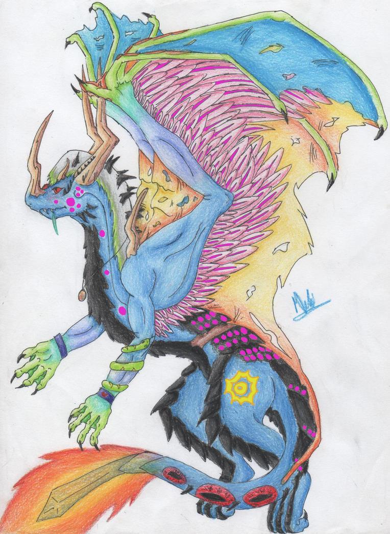 72) Beast for Hauntedphoenix game by Magicull-Delesia