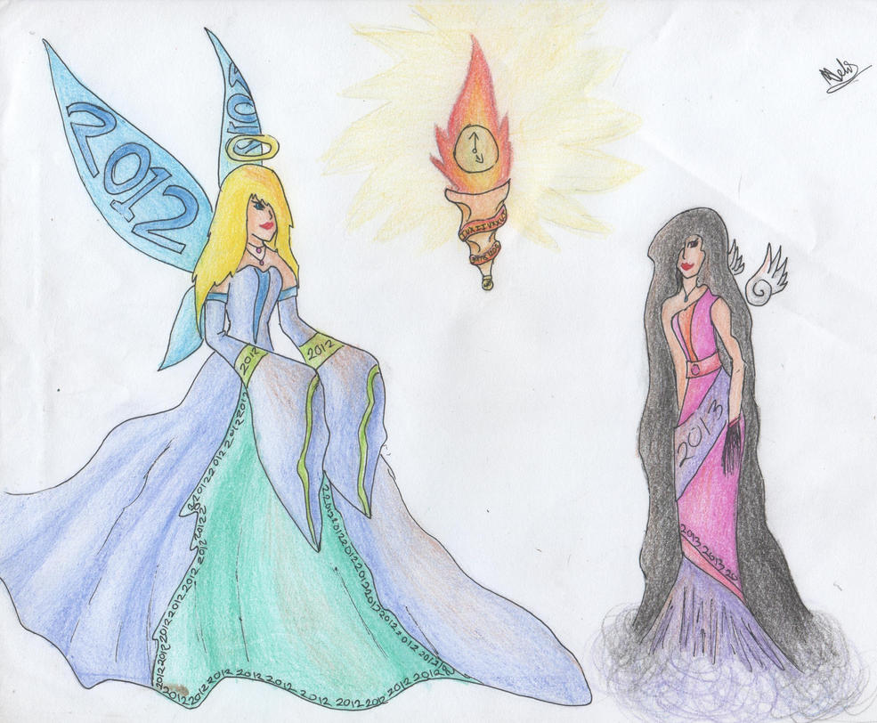 75) Contest entry year goddesses by Magicull-Delesia