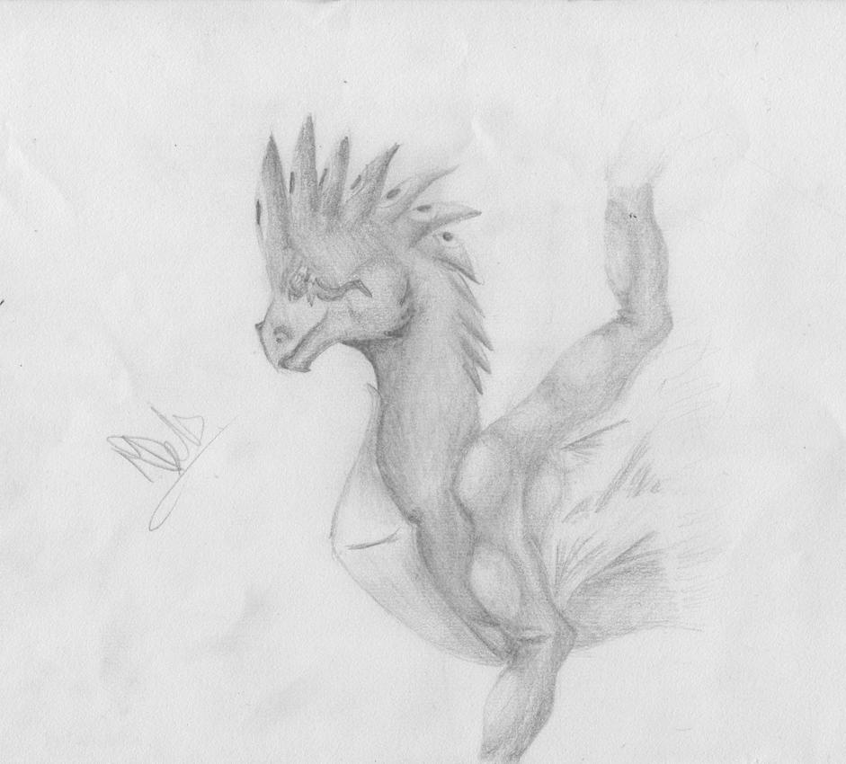98)Drake pencil :D by Magicull-Delesia