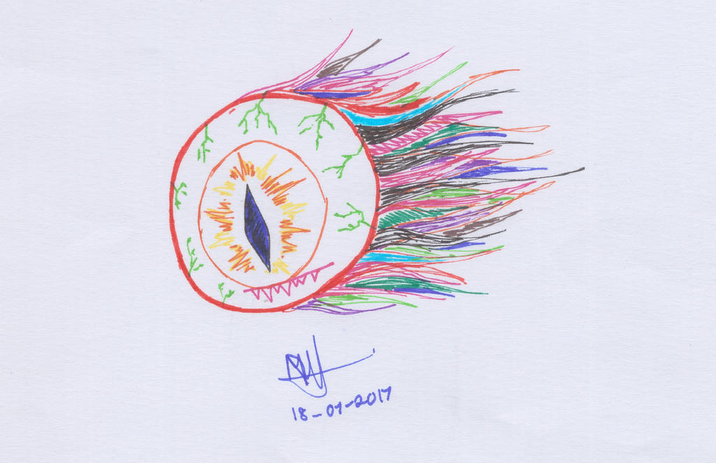 189) Colourful Nightmare by Magicull-Delesia