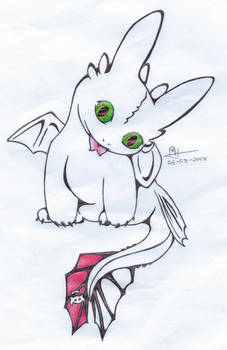 220) Cute lil Toothless
