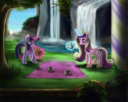 Princess' picnic by MarcyLin1023