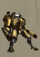 Tau Battle suit color by bastarsoul