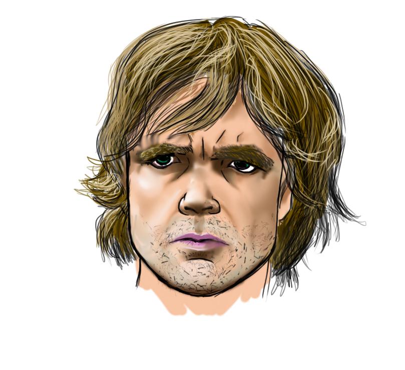 Para los fans de Game of Thrones :D Tyrion_paint_by_thexion-d83fj2y