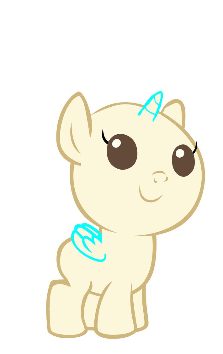 Mlp Base 7 Baby Pony by monkeystar290 on DeviantArt