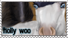 Holly-Woo Stamp by pom-happy-my-dog