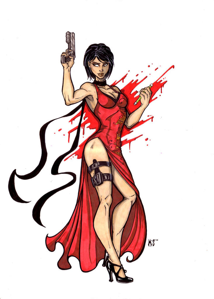 Ada Wong by CrimsonArtz