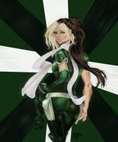 Digital Rogue Painting by CrimsonArtz