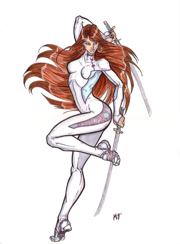 So sharp, she'd cut herself... by CrimsonArtz