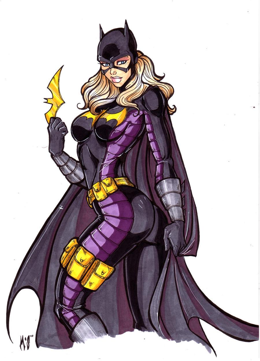 Stephanie Brown as Batgirl by CrimsonArtz
