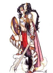 Lady Sif by CrimsonArtz