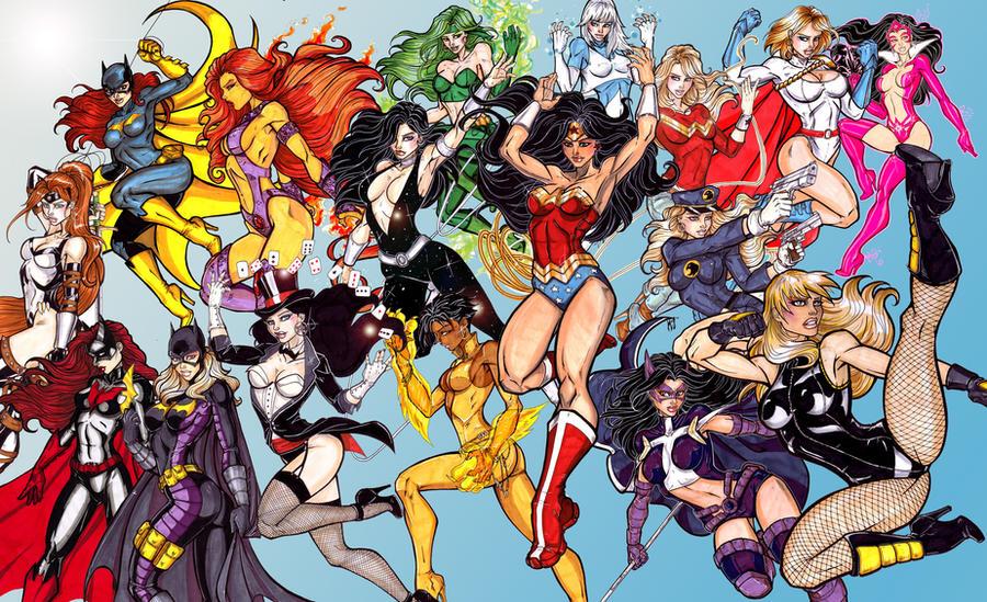 Ultimate DC Divas by CrimsonArtz