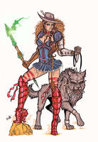 Lady Dorothea of Oz by CrimsonArtz