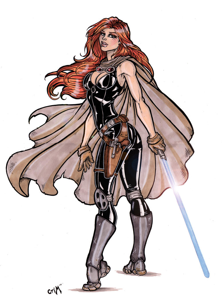 Mara Jade 2 by CrimsonArtz
