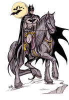 A True Dark Knight... by CrimsonArtz