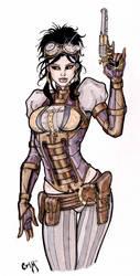 Lady Mechanika by CrimsonArtz