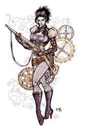 Lady Mechanika Commission by CrimsonArtz