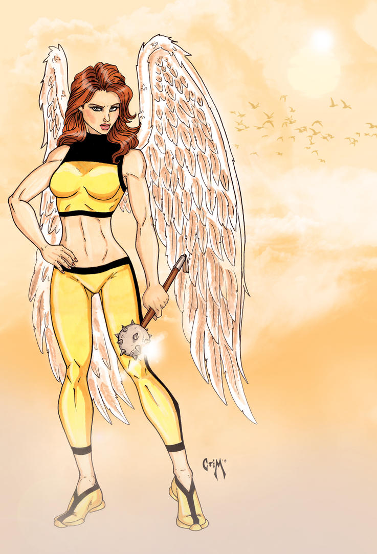 Hawkgirl by CrimsonArtz