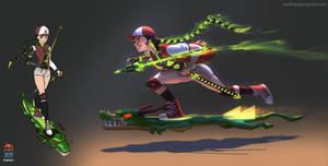 Jenyu Redesign - Crouching Tiger Hidden Dragon