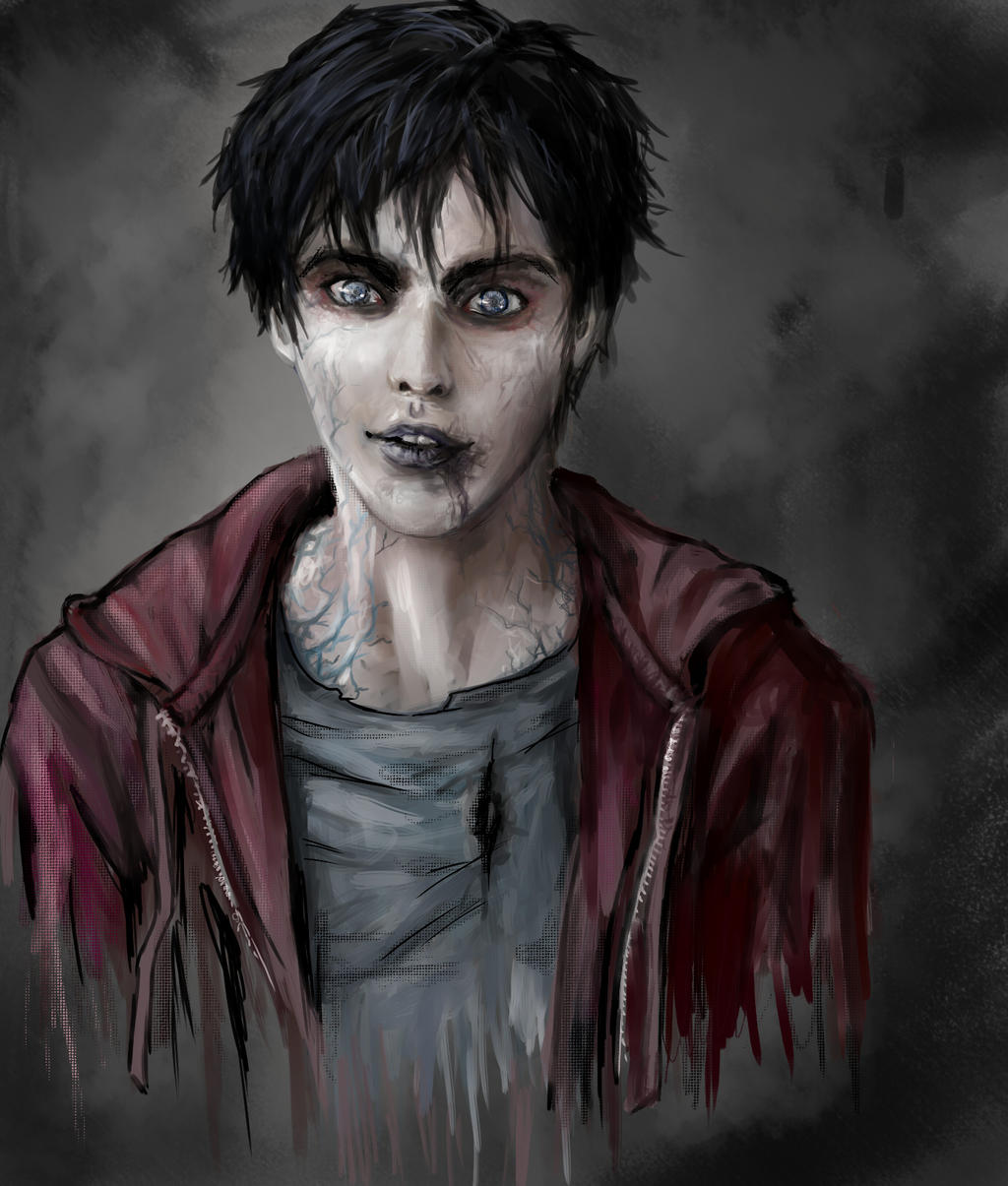 The Most Charming Zombie - Warm Bodies 'R' by JawsWolf