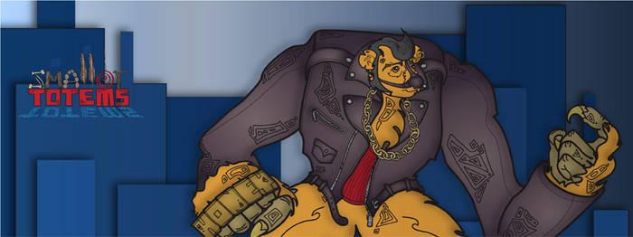 Honey Joe Facebook Cover by SmallerTotems