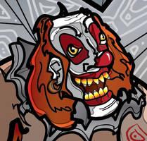 Clownface by SmallerTotems