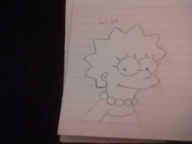 Lisa Simpson by babadaisy96