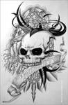 TattooCONcept:ChamorroSkull