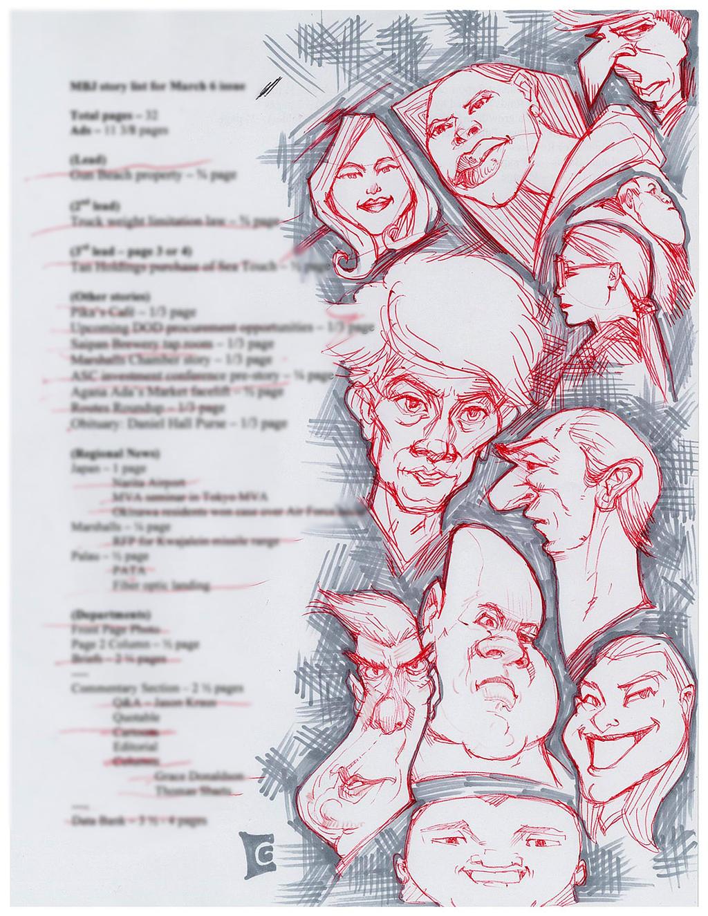 Doodle doodles people by c0nr4d