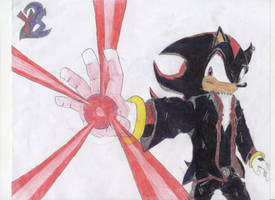 Adult Shadow's Chaos Spear by yamiseto2