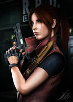 Claire Redfield by THassegawa