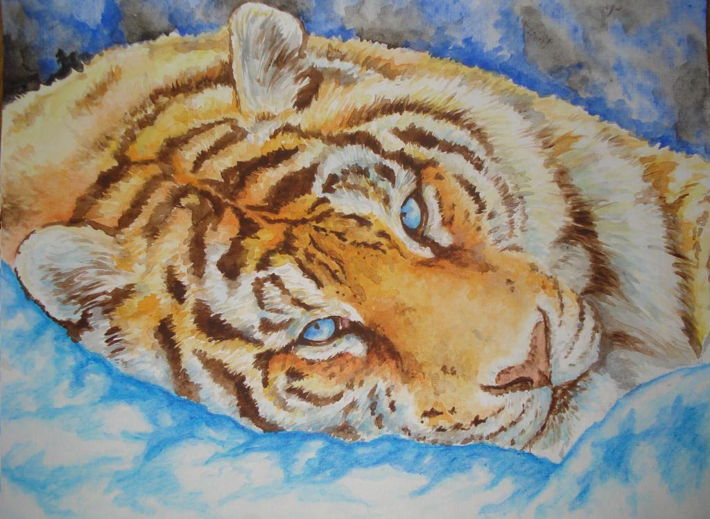 Tiger by COla013