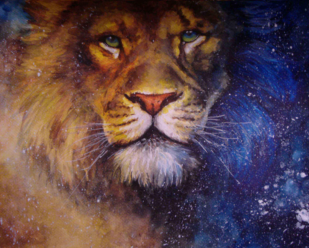 The Chronices of Narnia: Aslan by COla013