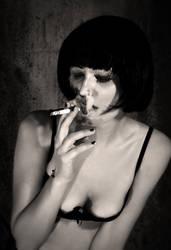 cigarette burn by staffansladik