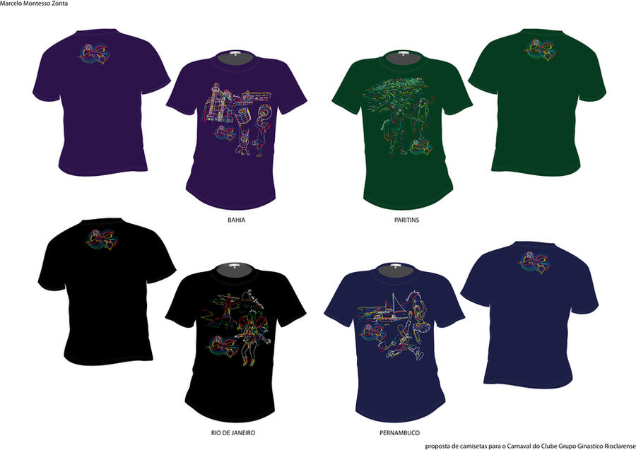Todas as camisetas de Carnaval by MarceloZonta