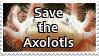 Save the Axolotls by ClockworkStamps