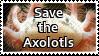 Save the Axolotls by ClockworkStamps