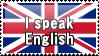 I Speak English by ClockworkStamps