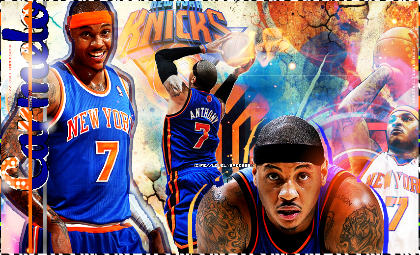 Carmelo Anthony Wallpaper by AmberlyAmorex