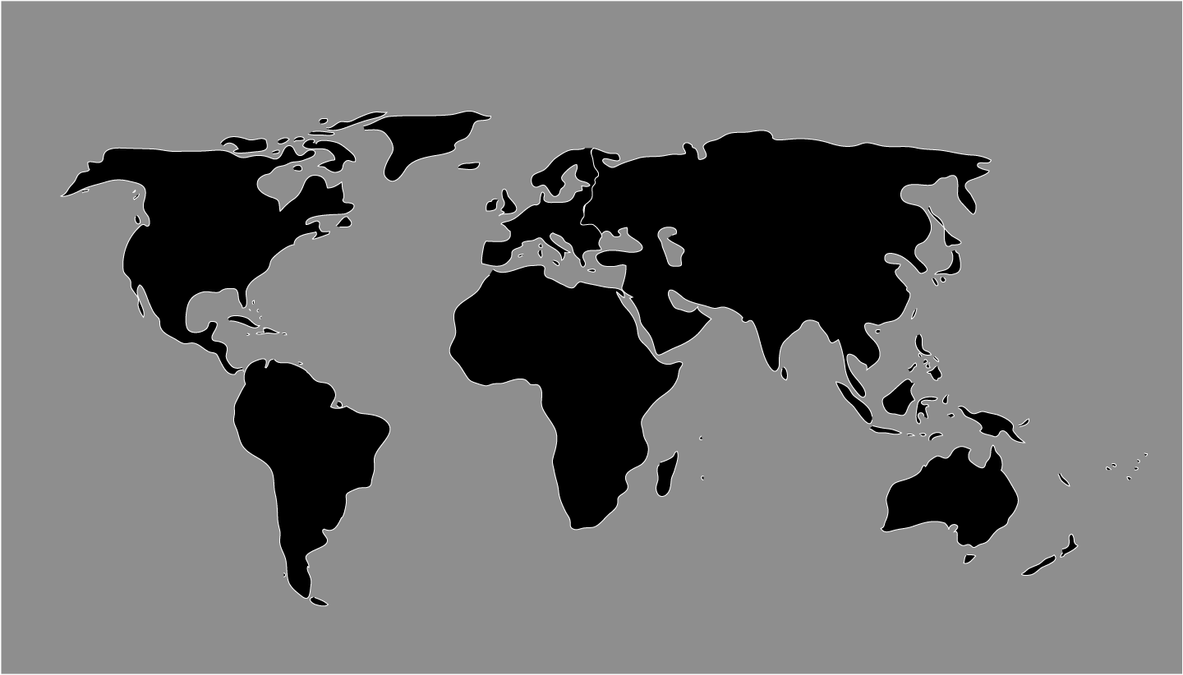 World map png vector more information djekova worldmap by escardo world map png vector gumiabroncs Image collections