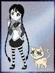 Sailor Addams + Luna Lovegood