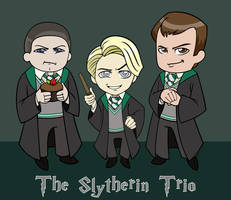 The Slytherin Trio by chaoticteapot