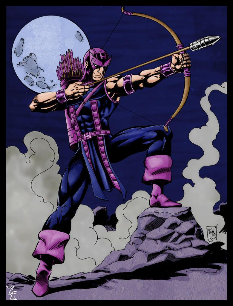 ARTGK's Hawkeye by apocalypsethen