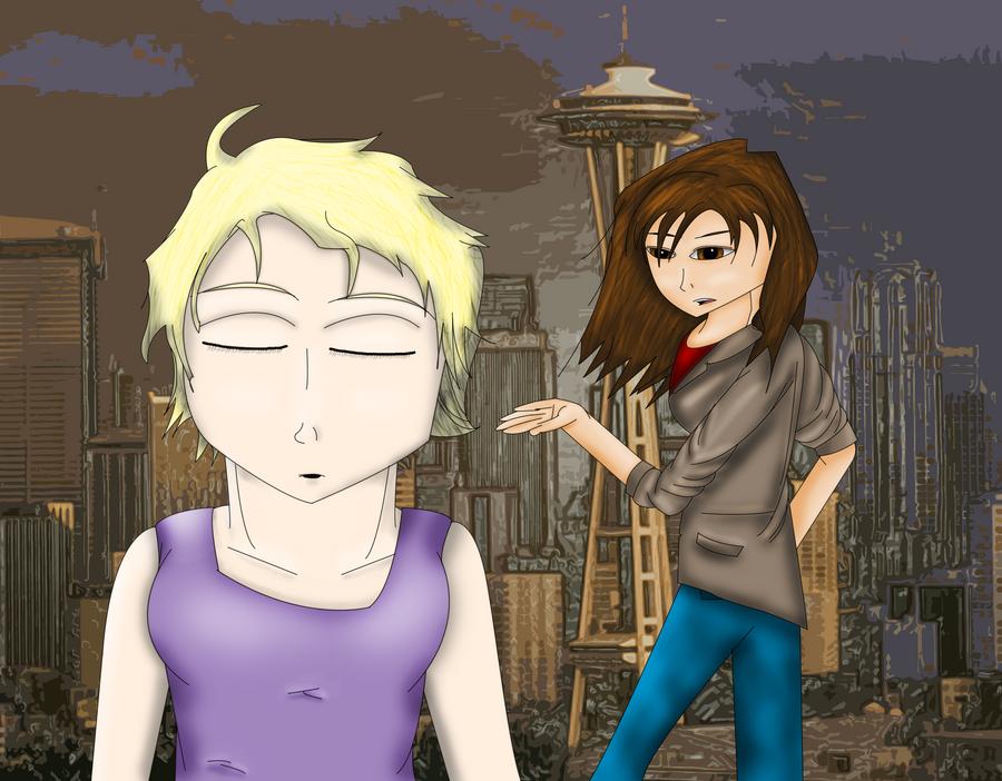 Jenesis and Juno by BookWurm15