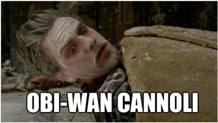 Obi-Wan Cannoli by BookWurm15