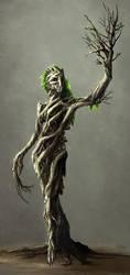 Dryad - MonsterSquad by Neverheidae