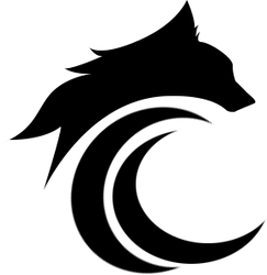 Simple Wolf Logo v1