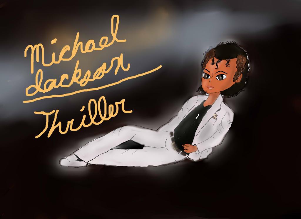 michael jackson thriller album cover by lollypop081 on. Black Bedroom Furniture Sets. Home Design Ideas