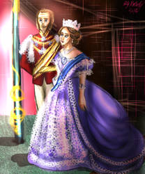 Monthly Challenge 2 Love: Victoria and Albert by Lollypop081MLE